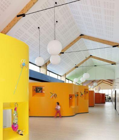 AIR设计法国Pierrelaye儿童康乐中心3