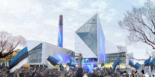 BIG设计塔林新市政厅2