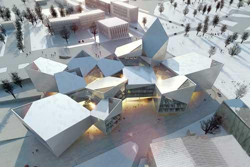 BIG设计塔林新市政厅5