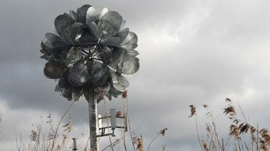 Tonkin Liu在英国Cheshire规划14米高的金属花1