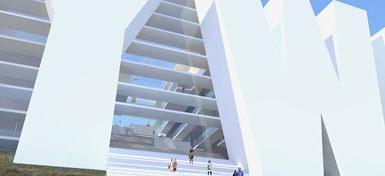 荷兰建筑师提议将好莱坞巨型招牌改造成饭店2