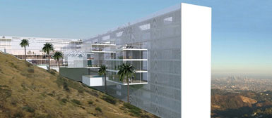 荷兰建筑师提议将好莱坞巨型招牌改造成饭店3