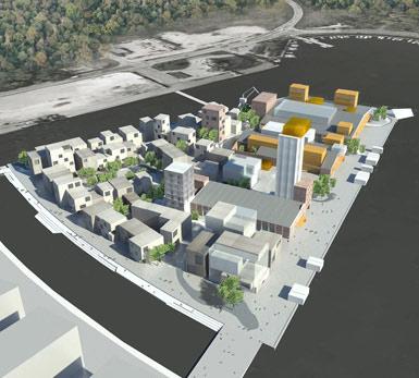 """丹麦""""城市岛""""设计竞赛揭晓_美国室内设计中文网"""