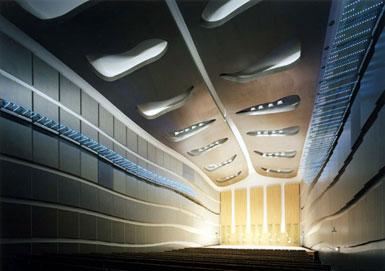Albert Abut事务所设计日本Hakuju音乐厅2