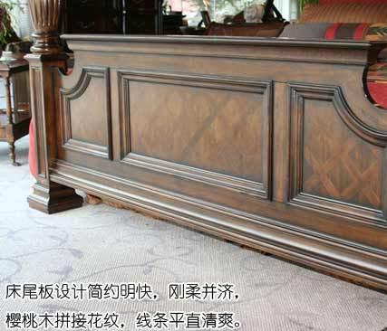 犹如皇冠的床头造型,极尽奢华
