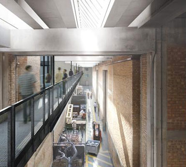伦敦国家剧院改造工程提交规划请求1