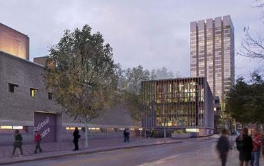 伦敦国家剧院改造工程提交规划请求2