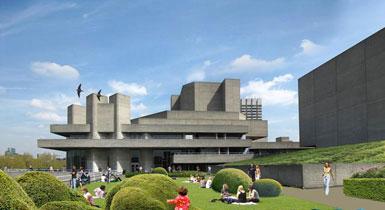 伦敦国家剧院改造工程提交规划请求3
