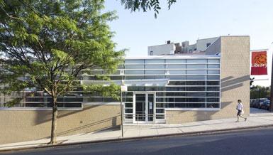 liro设计纽约布朗克斯高桥图书馆儿童阅览室