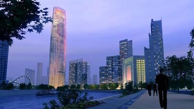 津塔写字楼的主体完工标志着天津开启了写字楼新