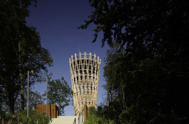 5米高的园艺展览会了望塔