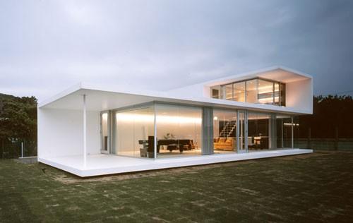 海景玻璃欧式别墅独栋