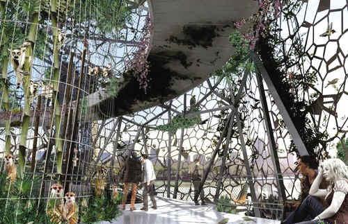 空中动物园 越高景越靓_美国室内设计中文网