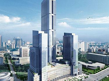 重庆拟建全球最高摩天双子塔;广州白鹅潭拟建650米