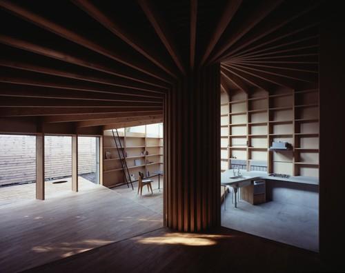 原木房子设计框架结构图