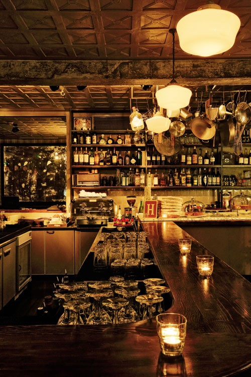 法国na 231 O设计事务所的红酒吧设计 美国室内设计中文网
