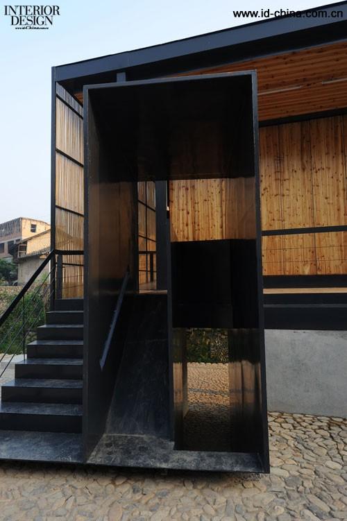 中国福建省下石村桥上书屋_美国室内设计中文网图片