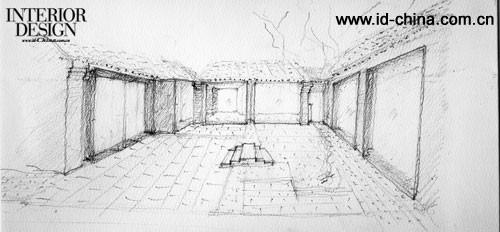 刘宇扬建筑事务所设计北京官书院胡同18号陶瓷展示会所02
