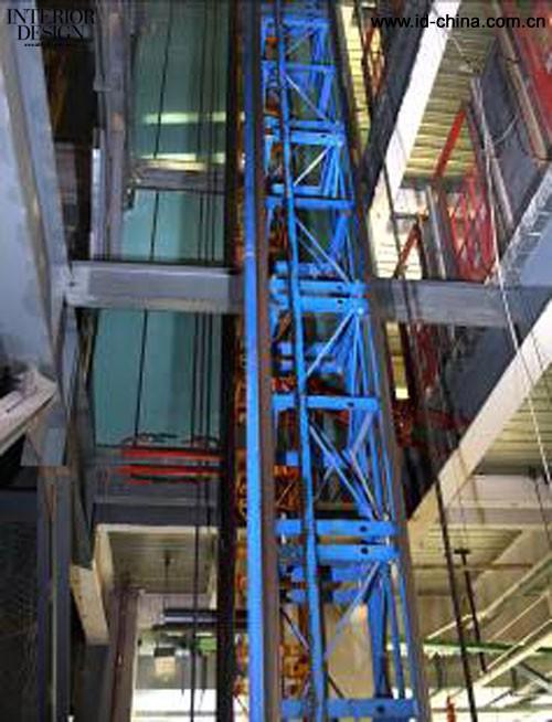 一方面,cctv新台址是钢结构工程,防火是结构的头等大事,可耐福耐水