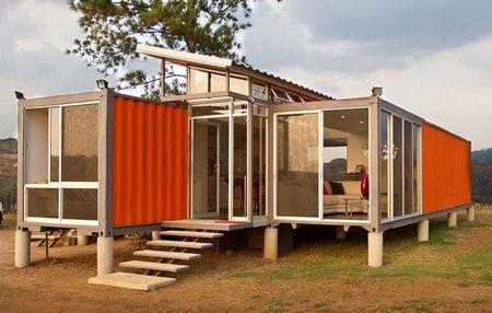 """本杰明·加西亚·撒克逊设计""""集装箱住房"""""""