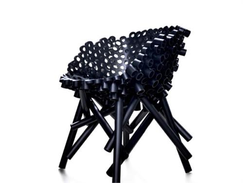 管子椅子_美国室内设计中文网
