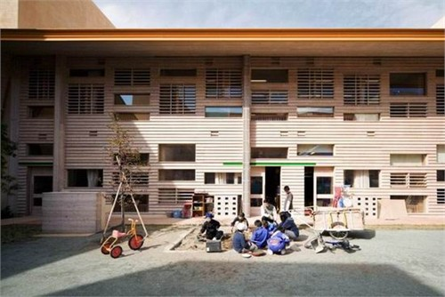 aka: 稲荷山特殊教育学校_美国室内设计中文网