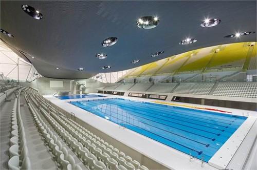 12年伦敦奥运会跳水_恭贺德国玛堡壁纸设计师扎哈·哈迪德倾情设计2012伦敦奥运会水上运动