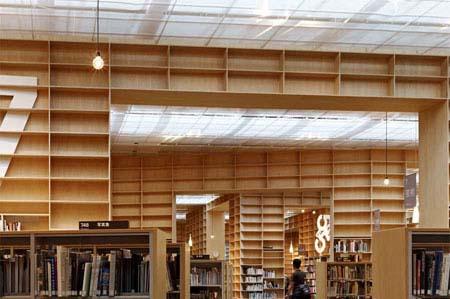 藤本壮介事务所设计日本武藏野艺术大学图书馆