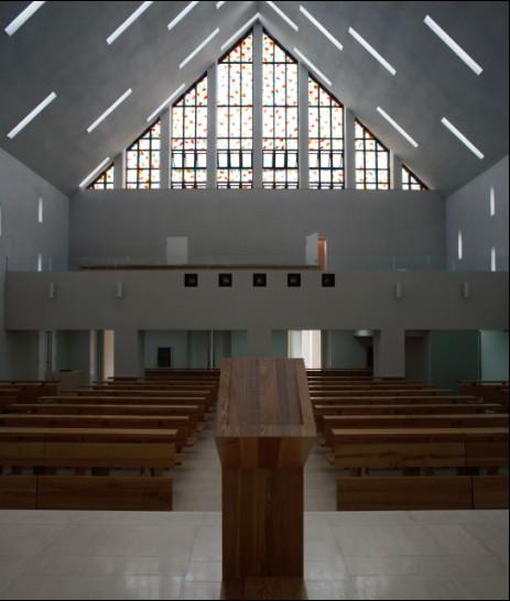 北京龙山教堂_美国室内设计中文网