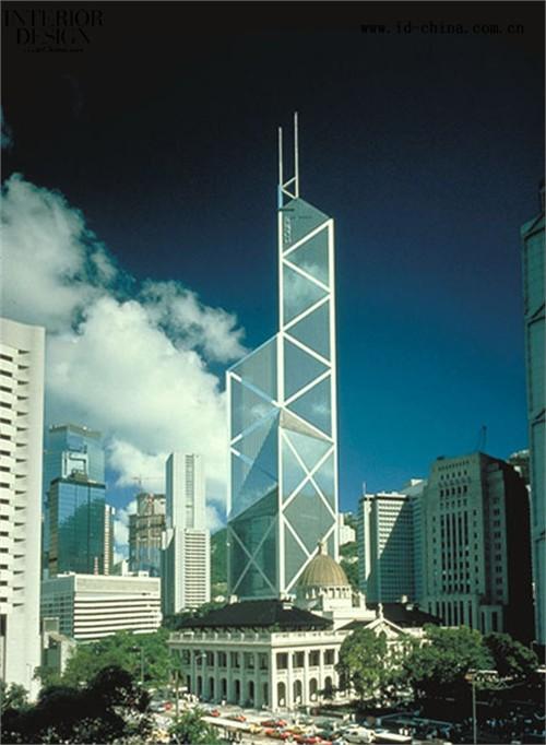 """全球资讯_香港""""三角楼""""---中国银行大厦_美国室内设计中文网"""