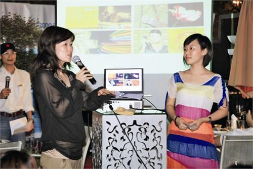 英威达市场经理金莹女士发布色彩流行趋势