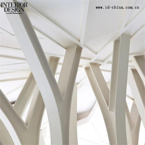 树形结构的设计采用钢桁架