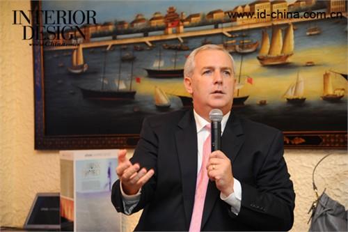 Shaw Contract Group亚太区副总裁Bill Chipman