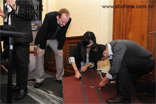 上海设计师齐动手地毯创意无限