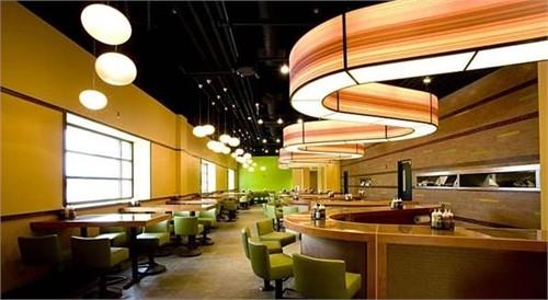 汉堡店室内设计