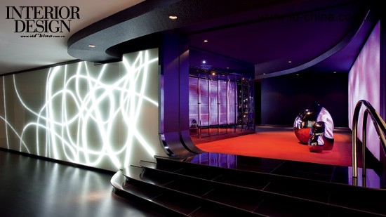 茶的标志_幻想与现实交织——橙电影院_美国室内设计中文网