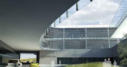 HOK设计保时捷美国新总部建筑/