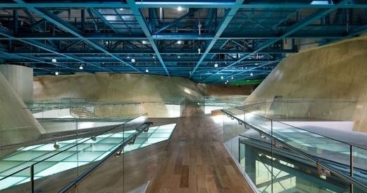 建筑空间设计:韩国仁川展厅