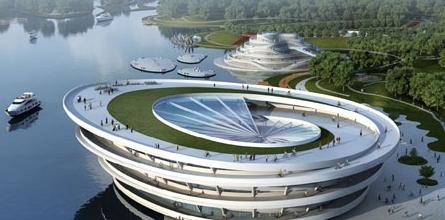 jds工作室设计上海崇明岛自行车城