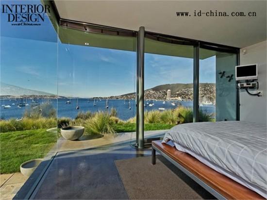 优雅的玻璃与钢结构住宅---------澳大利亚