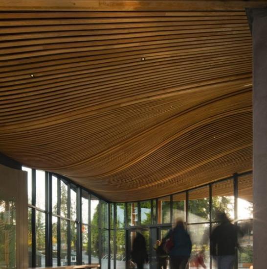 加拿大vandusen植物园游客中心设计欣赏_美国室内设计