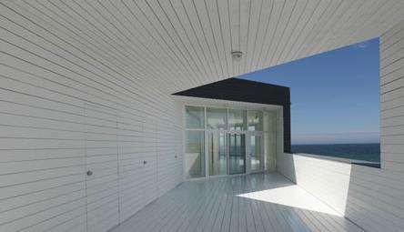 saunders事务所在福戈岛上设计艺术工作室