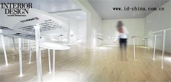 这个别致的工法样板空间在展示房地产项目工法