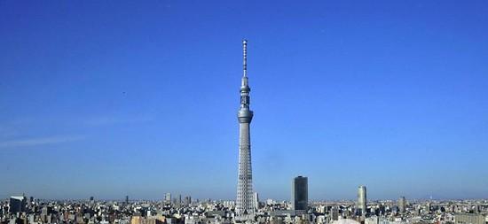 世界第一高通讯塔:天空树