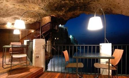 岩洞餐厅设计欣赏