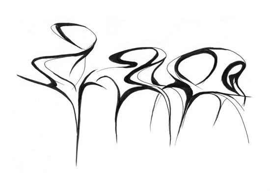 产品手绘曲面线稿