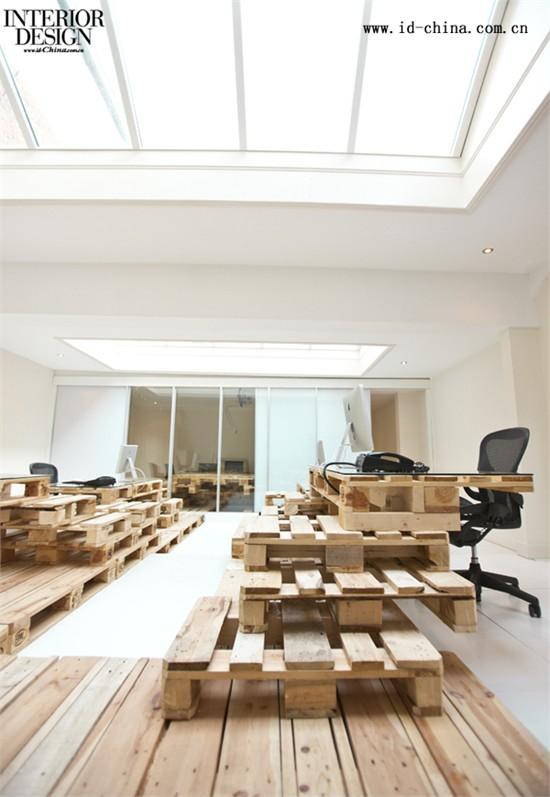 组合栈板——brandbase总部室内设计-商业空间设计-用