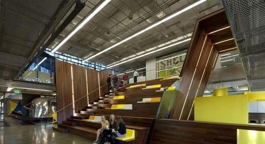 办公空间设计:美国拉马尔广告公司总部