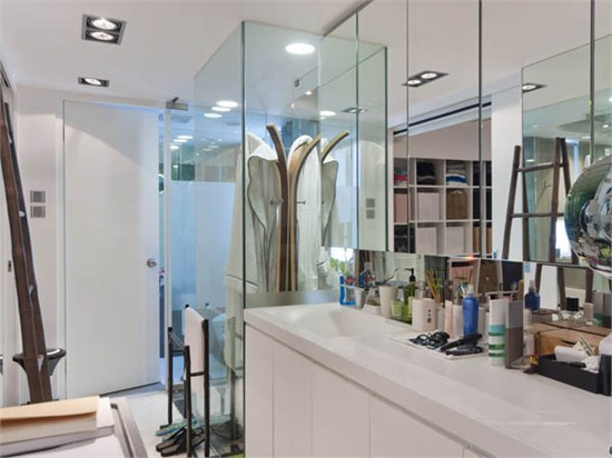 香港现代住宅_美国室内设计中文网