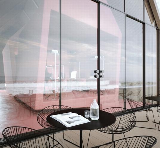 阁楼办公室设计_美国室内设计中文网